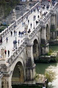 Le pont du Castel Sant'Angelo