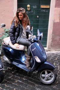 Rome for you Vespa