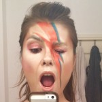 David bowie ziggy stardust musique maquillage éclair pop star