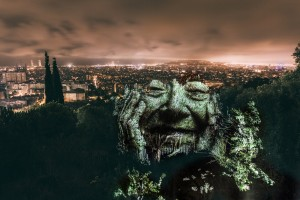 barcelone street art philippe echaroux photographe painting with lights