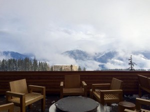 terrasse hotel Crans Ambassador