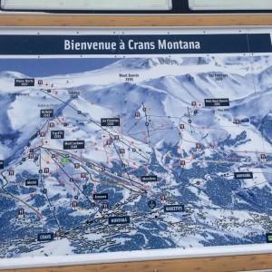 Domaine skiable Crans Montana