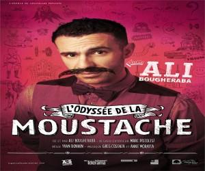 AFFICHE ODYSEE DE LA MOUSTACHE THEATRE sorties marseille