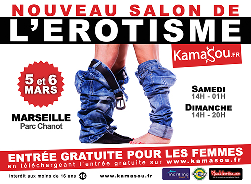Sorties marseille du 4 au 6 mars la fille l 39 envers for Salon de l erotisme tours