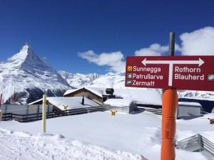 mont cervin zermatt ski superbe vue