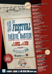 18 eme festival du theatre amateur marseille