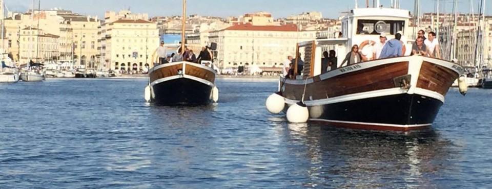 Les Barques Marseillaises et les Apéros sur l'eau