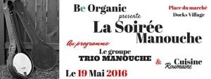 be organic soirée apéro live jazz manouche