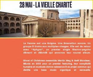 edition festival soirée marseille concert vieille charité