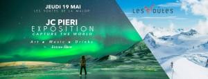 expo Jc pieri capture the world voutes de la major art