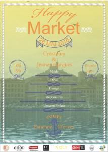 happy market marché créateurs marseille idées sorties week end