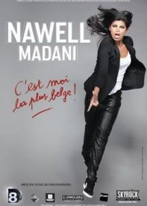 nawell madani c'est moi la plus belge spectacle marseille Aix