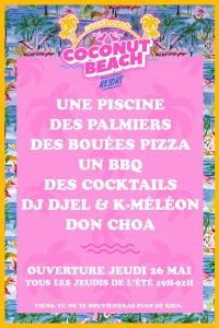soirée coconut beach apero marseille sport beach