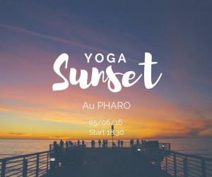 sunset yoga au pharo dimanche soir cours yoga marseille