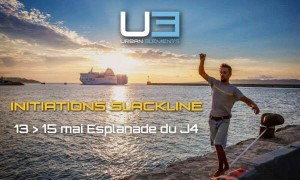 urban element initiation slackline marseille