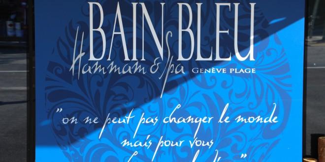 Bain Bleu… Expérience sensorielle Genève