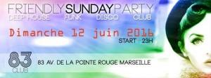 friendly sunday party soirée dimanche soir marseille