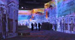 marc chagall exposition carrières de lumières baux de provence idée week end