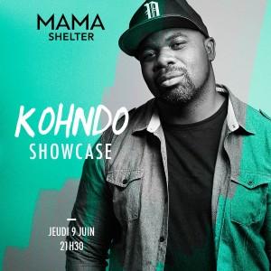 showcase Kohndo au Mama Shelter marseille soirée