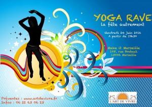 yoga rave marseille soirée apéro yoga