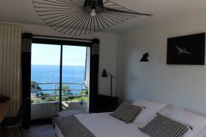Villa Les Hydrangéas meilleur hotel eprros guirec vue mer