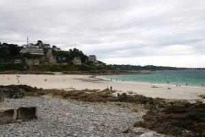 Perros Guirec plage trestraou plus beau point de vue