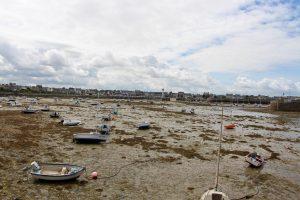 estacade roscoff rochers mer