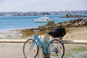 location vélo ile de batz promenade