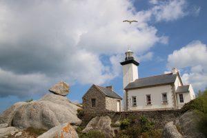 phare de pontusval brignogan plage