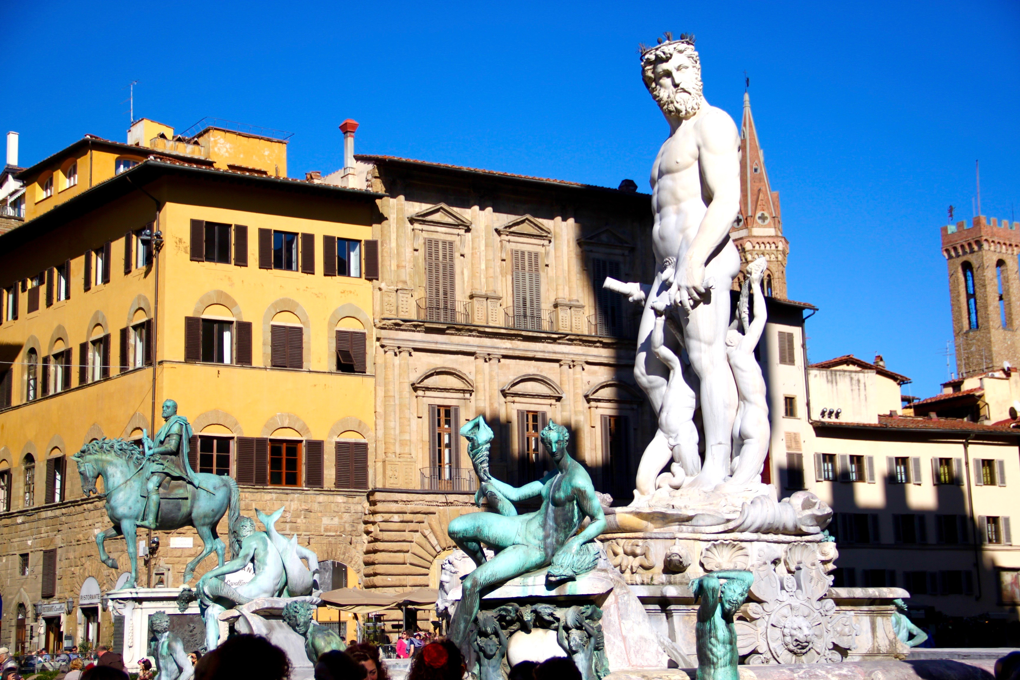 fontaine neptune florence