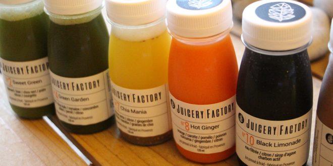 Juicery Factory… Des bouteilles vitaminées