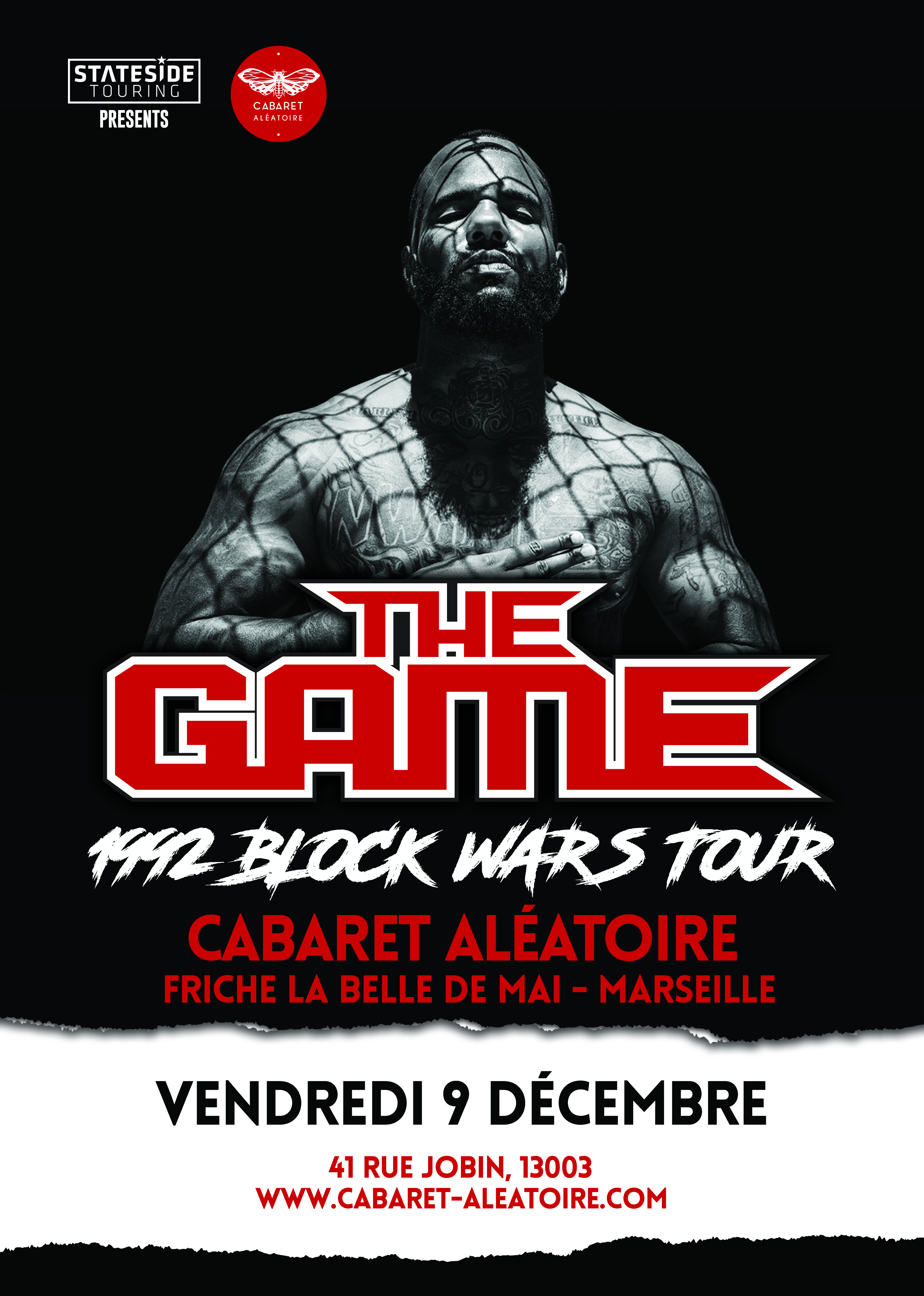 affiche-the-game-concert