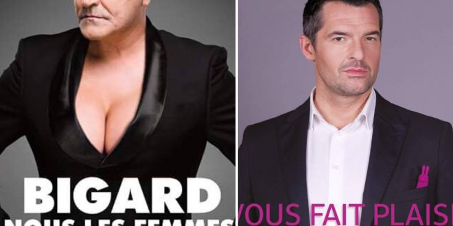 Week-end Humour 2 spectacles Jean-Marie Bigard et Arnaud Ducret