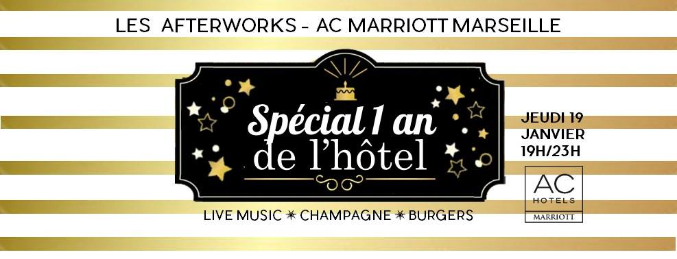 ac marriott afterwork anniversaire