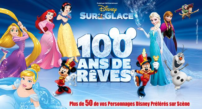 disney 100 ans de reve spectacle sur glace