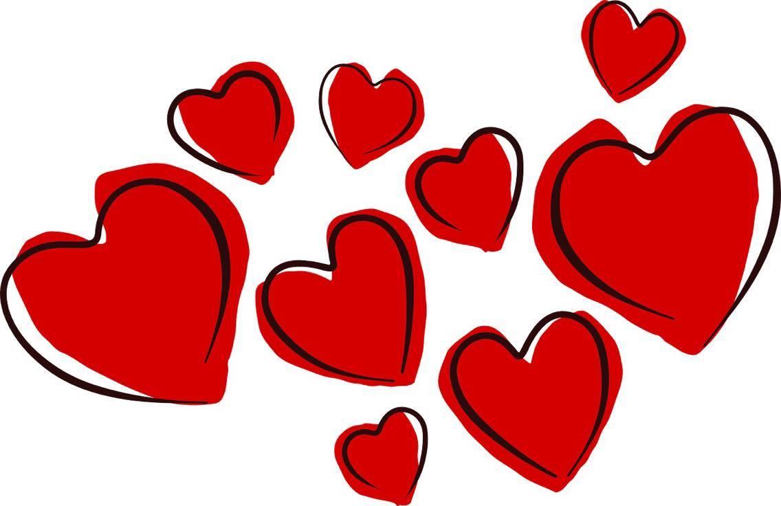 Coeur saint valentin dessin la fille l 39 envers - Coeur st valentin ...