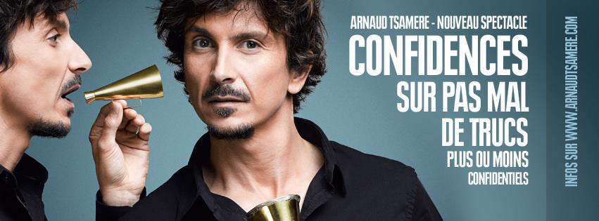 Arnaud Tsamere se confie