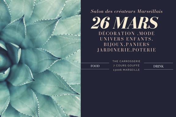 Sorties marseille 23 au 26 mars food culture sport for Salon bien etre marseille