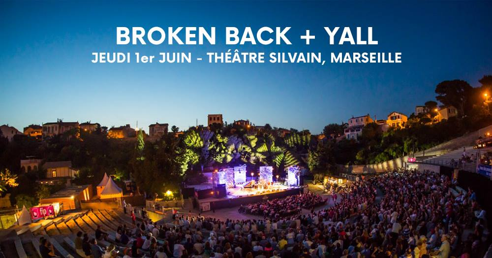 concert broken back en plein air