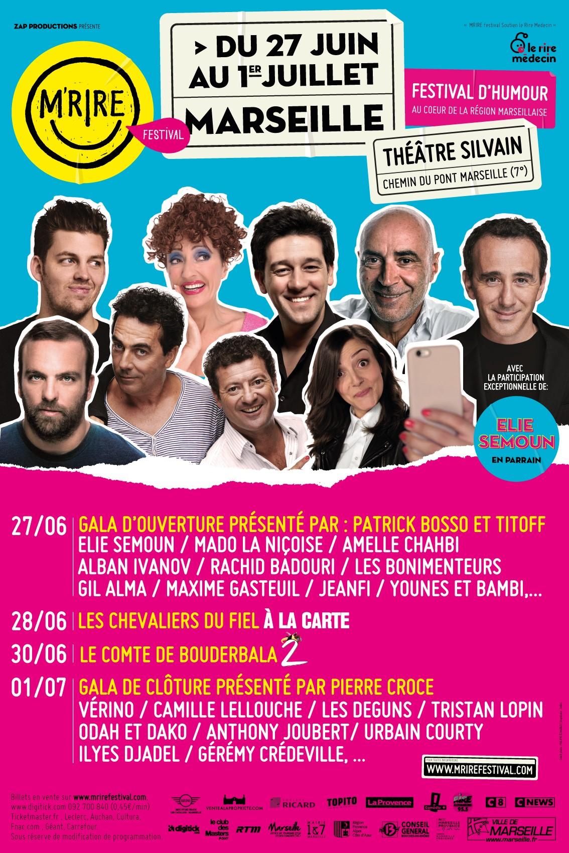 M'Rire Festival humour marseille