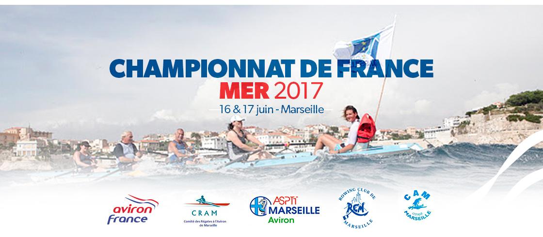 championnat france mer aviron