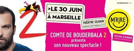 comte de bouderbala M rire festival