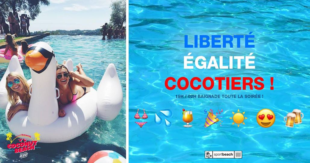 Liberté, Égalité, Cocotiers les jeudi anais & pedro