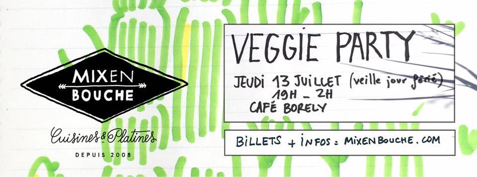 Mix en bouche Veggie party