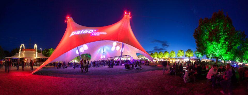 Festival Paléo 6 jours de fête et de belles découvertes de Nyon à Lausanne