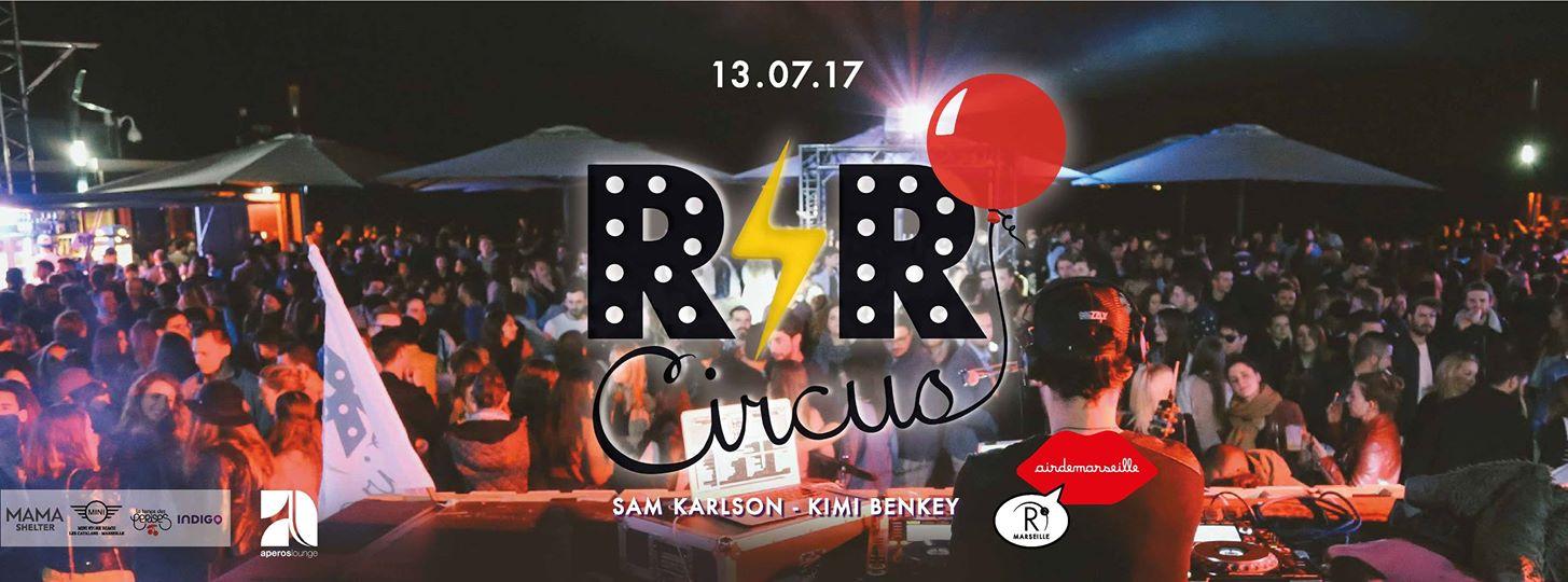 R'N'R Circus x Sam Karlson roof top marseille