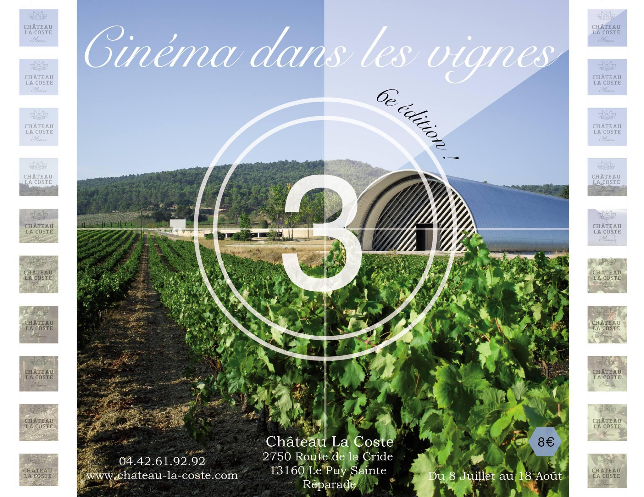 cinema plein air dans les vignes