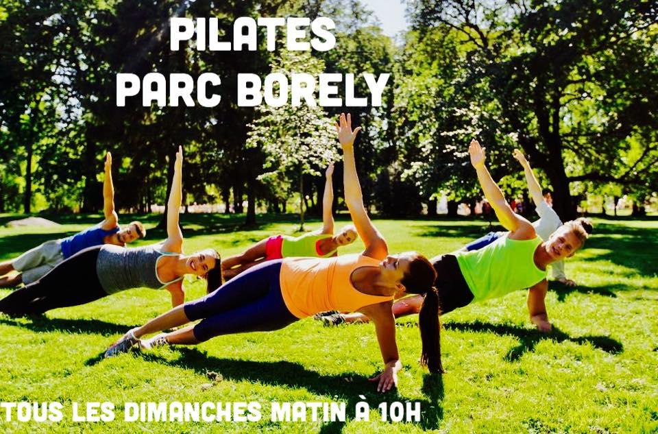 cours de pilates parc borely