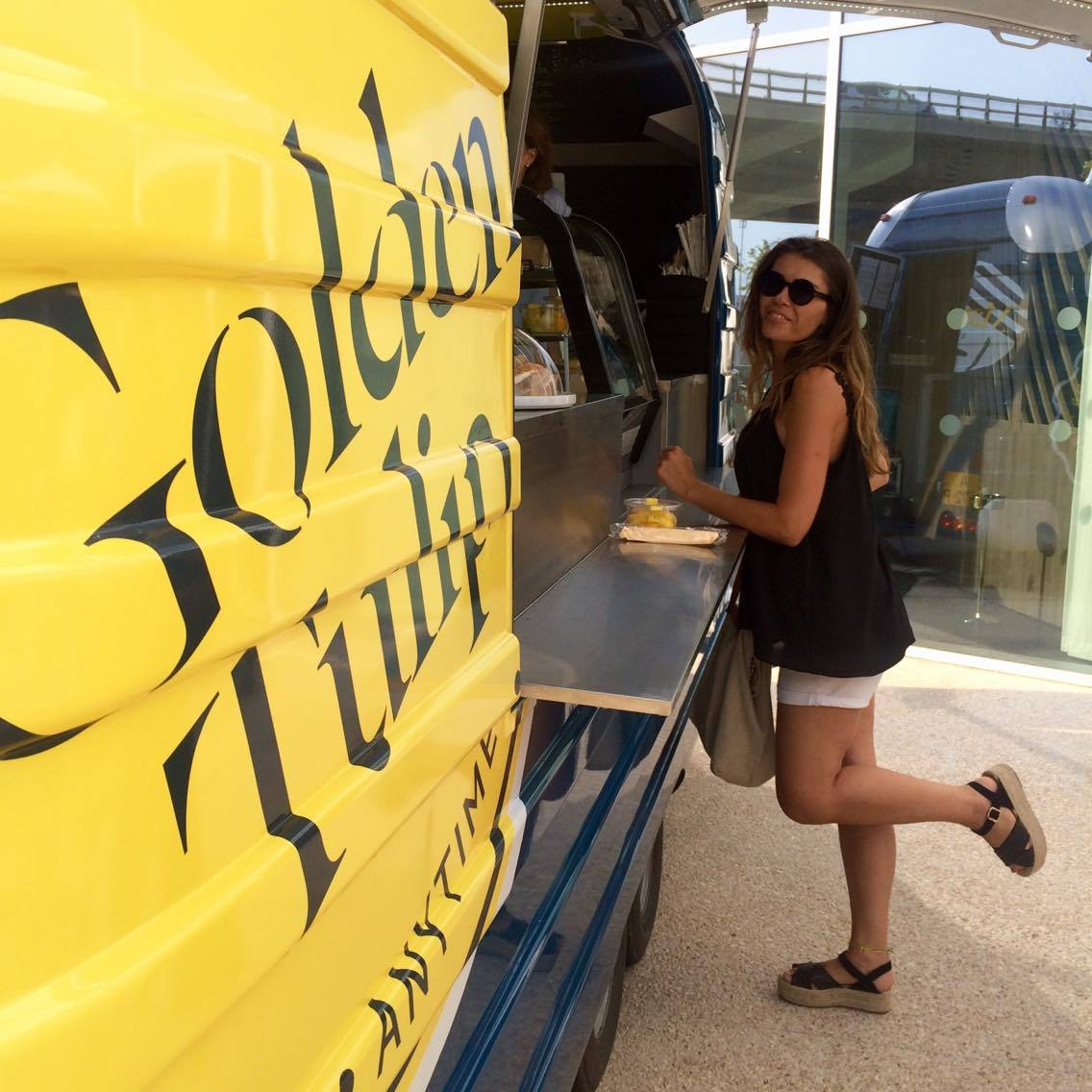 food truck golden tulip experience