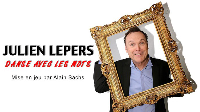 julien lepers en spectalce theatre